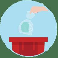Отходы утилизации COVID-19