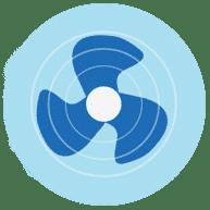 Обеспечить вентиляцию воздуха COVID-19
