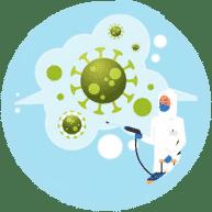 Дезинфекционный спрей и озон